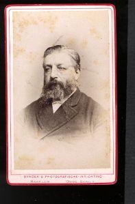 Portret van eigenaar Jean Elise Esaye de Wit (1829-1885)