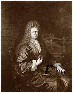 Mattheus Lestevenon (1633-1693). Schilderij van Constantijn Netscher uit 1693
