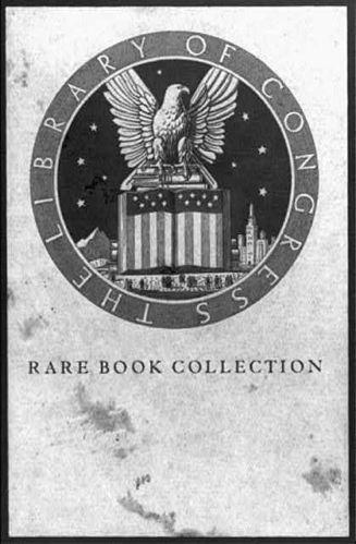 Library of Congress: rare book collection
