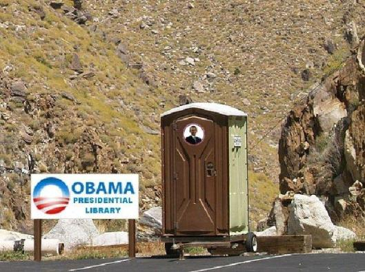 'cartoon' Obama Presidential Library