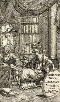 Bibliotheca Oizelliana (Leiden, 1687). Jacobus Oizelianus was een polyhistor en werkzaam als hoogleraar in Groningen
