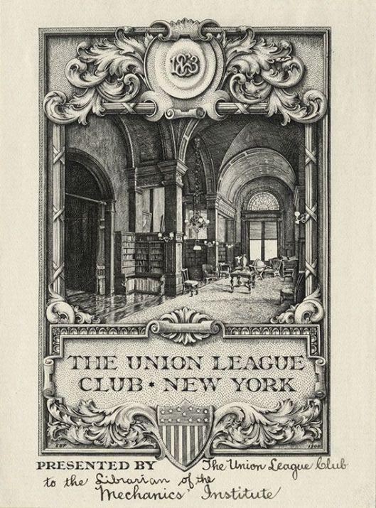 Ex libris Pratt Institute Libraries