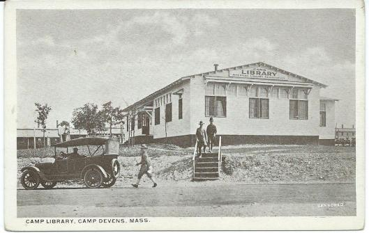 Caml library, Camp Devens, Massachusetts, USA