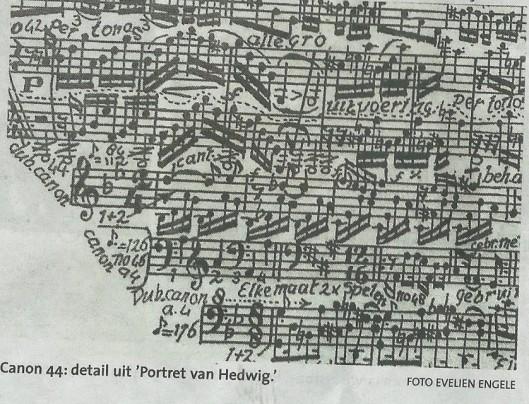 Canon 44: detaul uit 'Portret van Hedwig'. Uit artikel van Evelien Engele, Haarlems Dagblad 8 augustus 2015.
