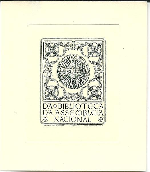 Bibliotheek van Assembleia Nacional Porugal in Lissabon