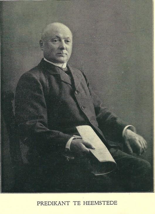 Predikant Jonker uit de biografie van M.van Rhijn: Aart Jan Theodorus Jonker