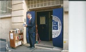 Hans Krol voor boekhandel Ex Libris Lux in Prijs (2012)