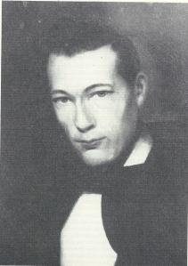 Dominee G.J.van der Flier (1841-1909) was van 1870 tot 1873 predikant in Heemstede (Inconografisch Bureau)