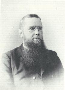 Dominee W.L.Welter (1849-1940) stond van 1883 tot 1885 in Heemstede (Iconografisch Bureau)