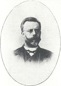 Dr.F.E,Daubanton (1853-1920) was predikant in Heemstede van 1886 tot 1889.