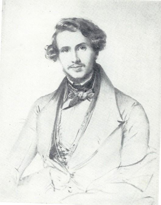 Vader B.A.Baron Van Verschuer (1809-1901) in 1838