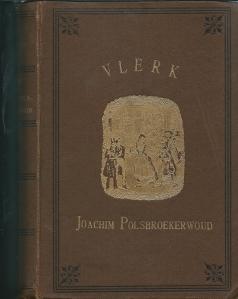 Bernard Gwin was onder pseudoniem Vlerk de schrijver van het in zijn tijd populaire boek 'Reisontmoetingen van Joachim Polsbroekerwoud en zijné vrienden' Vooromslg avn de vierde uitgave uit 1902, uitgegeven door Gebr. E & M.Cohen in Amsterdam.