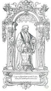Hans Holbein: houtgravure van Erasmus van Rotterdam (1535)