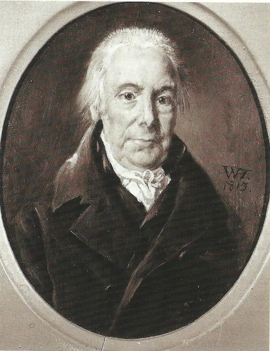Cornelis Hartsen (1751-1817), eigenaar van Knapenburg van 1790 tot zijn overlijden. Geportretteerd door W.Hendriks in 1813.