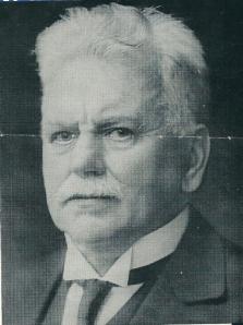 Portret van dr.A.H.de Hartog. Uit: dr.mr.M.Visser: Het leven van prof.dr.A.H.de Hartog.