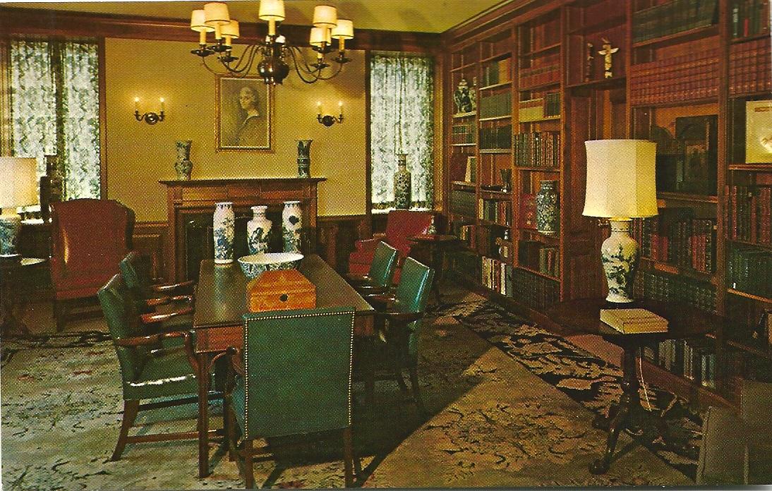 Woonkamer Met Bibliotheek : Presidential libraries usa 1 librariana