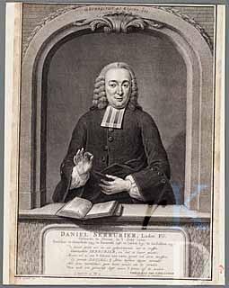 Daniel Serrurier (1720-1793). Gravure van Pieter Tanjé