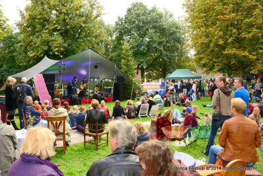 Tadereel van het derde Eldorica Festival in het Staten Bolwerk Haarlem, 2014 (Foto Ad Schaap)