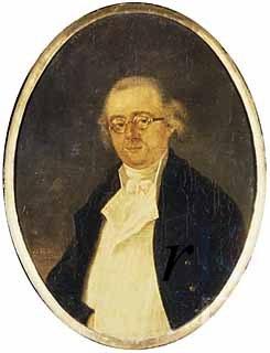 Johan Valckenaer (1759-1821) op een anoniem schilderij uit 1799 (RKD-Den Haag)