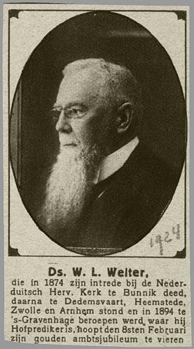 Hofpredikant Welter