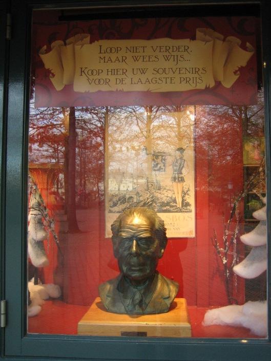 'Kop' van Anton Pieck in de Efteling, Kaatsheuvel