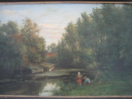 Gesine Vester: botenhuis bij 't Clooster (Hageveld) Heemstede (gem. Heemstede)