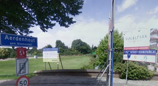 Op deze plaats in Aerdenhout, nabij de Vogelwijk in Heemstede zal een laan worden vernoemd naar verzetsstrijdster Gezina van der Molen