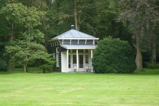 Tuinhuisje Bosbeek uit de tijd van Gutmann