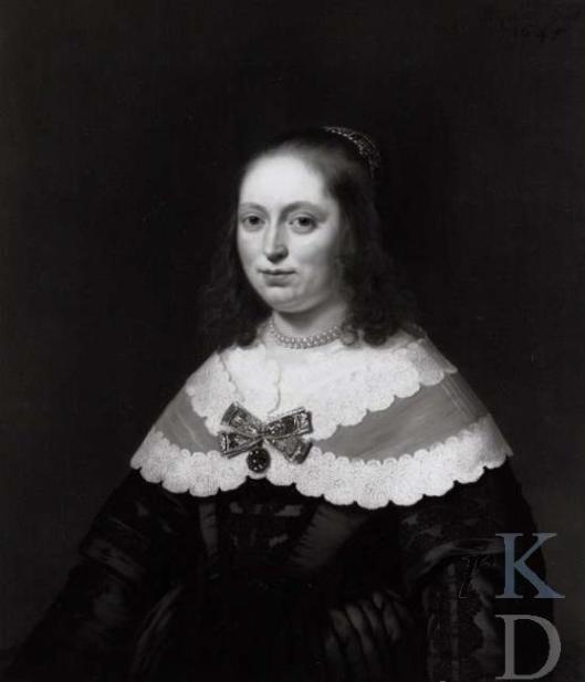 Portret van Sophia Coymans-Trip door Bartholomeus van der Helst uit 1645. (Iconografisch Bureau Den Haag)