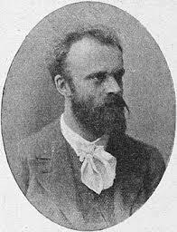 Portret van Joseph Th.J.Cuypers (1861-1947) uit 1917 die na het ontwerp van het raadhuis (1906) en het grote Uitbreidingsplan Heemstede (1909-1912) tot WO II verbonden bleef met Heemstede verbonden bleef als lid van de Welstandscommissie.