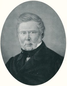 Burgemeester van Heemstede van 1838-1850 Jan Dolleman, Heemstede. Hij bleef aan als notaris. Anoniem schilderij.