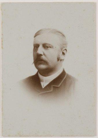 Jan Philip Dolleman, burgemeester van Heemstede van 1874-1891.