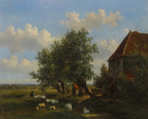 Willem Vester: Zomer (Flava Art Bussum)