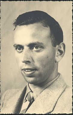Hartog Jacob Godschalk, overleden 31-5-1944 in Auschwitz (foto Joods Historisch Museum)