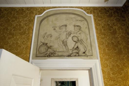 Grisaille de Herfst, in 1954 verkocht door de zusters van Bosbeek, thans in bezit van het Drenths Museum, waar het mag blijven na een bindende uitspraak van de Restitutiecommissie.