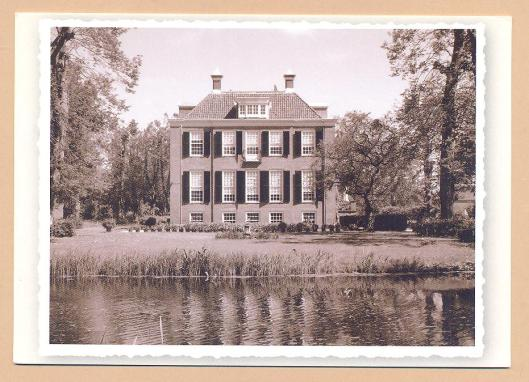Huis te Manpad op een ansichtkaart uit omstreeks 1950