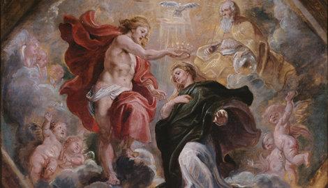Herbert Gutmann bezat naast talrijke andere kunstwerken over deze schets van P.P.Rubens. Deze is in 1934 bij Graupe veiling verkocht. De Oostenrijkse autoriteiten waren van mening dat deze en andere schilderijen verkocht bij Graupe als 'roofkunst' aan de erven van H.Gutmann zouden moeten teruggegeven. De Britse restitutiecommissie wees de claim van de kleinkinderen om diverse redenen af, o.a. omdat Gutmann voor het werk bij de veiling 1.100 Rijksmark heeft ontvangen, ruim boven de toenmalige raming van 5.000 mark.
