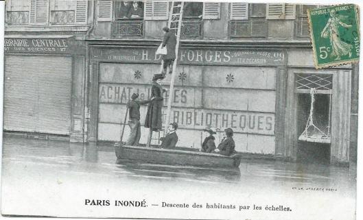Boeken verloren, maar mensen. Parijs, circa 1925