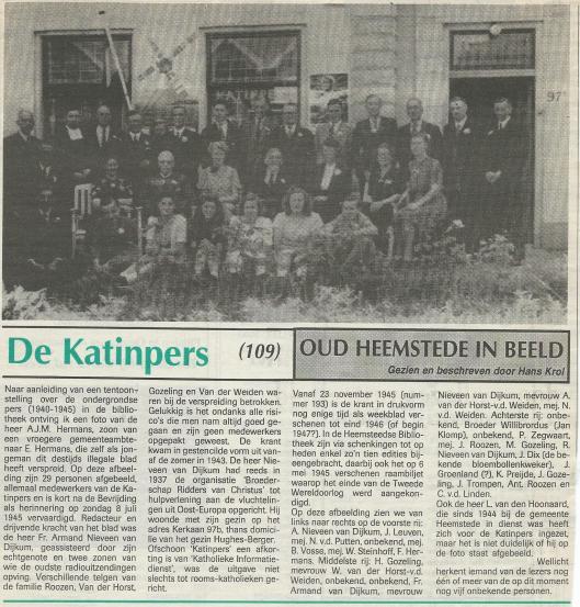 DE Karinpers.Uit: de Heemstedervan 5 juli 1995.