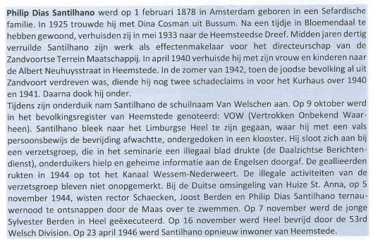 Philip Dias Santilhano was van 1936 tot 1942 directeur van Hotel Kurhaus en het Kurhaus/Casino in Zandvoort