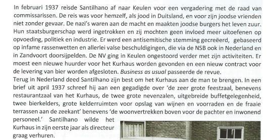 Over Philip Dias Santilhano als directeur van Kurhaus, Zandvoort (dr. T.G.van der Linden. Ondernemers met lef, pagina 85).