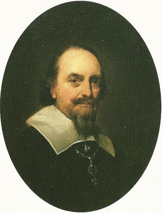 Portret van Adriaen Pauw; door Gerard ter Borch, 1646