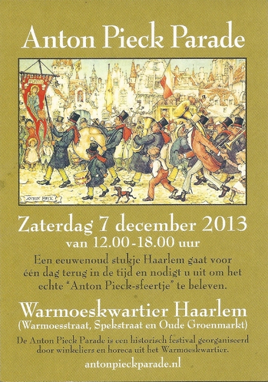 Anton Pieck Parade Haarlem 7 december 2013