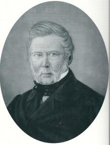 Portret van burgemeester-notaris Jan Dolleman (1801-1878)