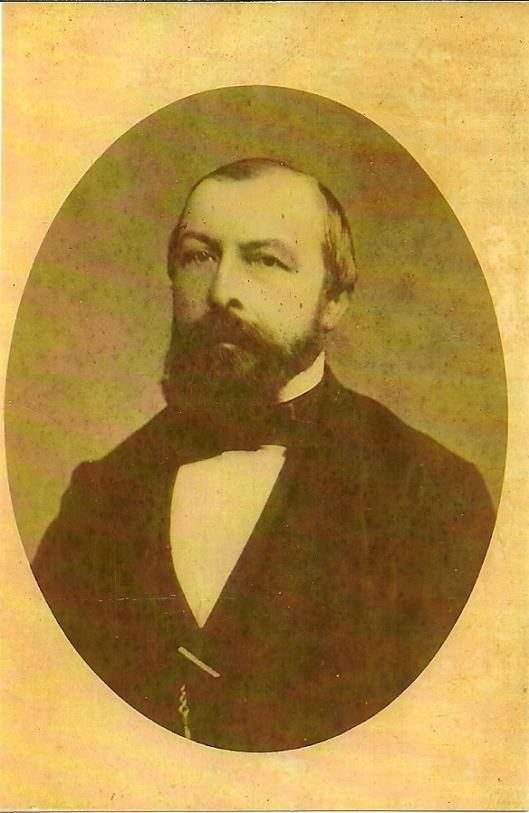 Jonkheer mr. Cornelis van Lennep, burgemeester van Heemstede van 9 september 1856 tot 4 maart 1874