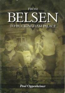 Voorzijde van het boek van Paul Oppenheimer: From Belsen to Buckingham Palace.