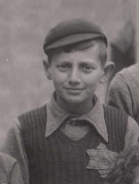 Joseph (Jopie) van Spiegel in 1942 (foto communityjoodsmonument)