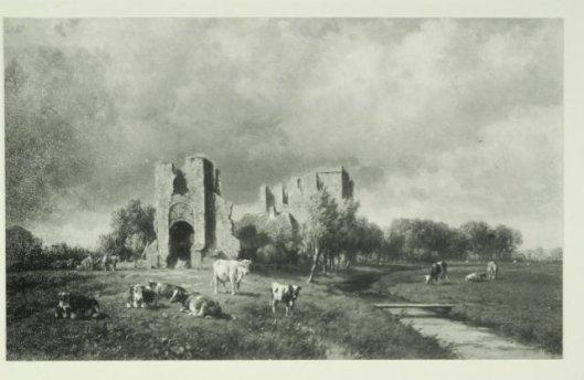Ruïne van Brederode; dor Willem Vester