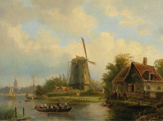 Een schilderij van Willem Vester in Russisch bezit