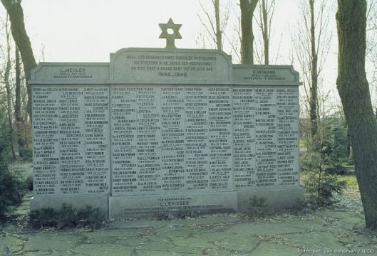 Joods monument in Vijfhuizen, Haarlemmermeer